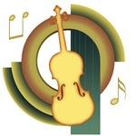 Violin Deco