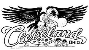 Cleveland Buzzard on Mushroom