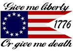 Give Me Liberty Old Republic Flag T-shirts & Gifts