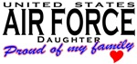 Proud United States Air Force Daughter