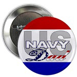 US Navy Dad Buttons & Magnets