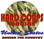 Hard Corps United States Marines T-shirts & Gifts