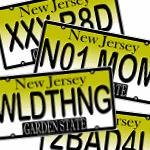 New Jersey Vanity License Plate Designs