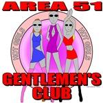 Area 51 Gentlemen's Club T-shirts, Apprel & Gifts