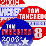 Tancredo For President 2008 Buttons & Magnets