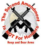 The Second Amendment is not for Hunters Keep and Bear arms.