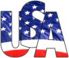 USA logo T-shirts and more
