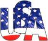 USA logo T-shirts and more