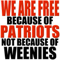 Free because of Patriots Conservative Apparel
