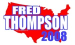 Fred Thompson 2008 American T-shirts & Gifts