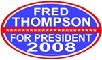Fred Thompson For President GOP T-shirts & Gifts