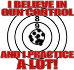 Evil Conservative Gun Control T shirts & Apparel