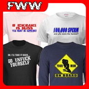 Insult T-shirts, Clothing & Gifts
