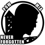 POW MIA Remembered T-shirts & Gifts