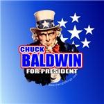 Chuck Baldwin for President Buttons & Magnets