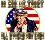 In God We Trust T-shirts & Merchandise