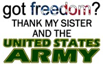 U.S. Army (Thank My Sister)