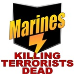 USMC Killing Terrorists Dead T shirts & Gifts