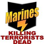 USMC Killing Terrorists Dead T shirts & Gifts