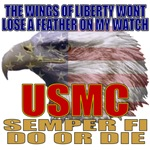 USMC American Eagle Patriotic T-shirts & Gifts