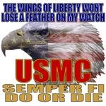 USMC American Eagle Patriotic T-shirts & Gifts