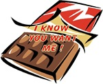 I know you want Me-Chocolate t-shirt and gifts