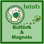 Irish buttons and magnets