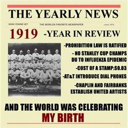 born in 1919 birthday gift