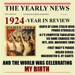 born in 1924 birthday gift