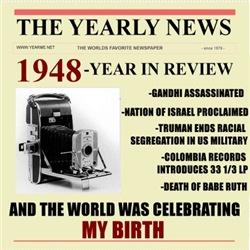born in 1948 birthday gift