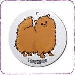 Orange Pomeranian T-Shirts and Gifts