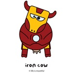 iron cow