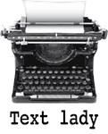 Text lady