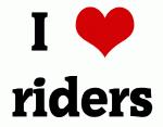 I Love riders