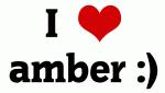 I Love amber :)