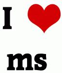 I Love ms
