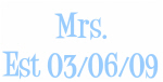 Mrs. Est 03/06/09