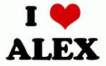 I Love ALEX