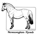 Norwegian Fjord items with this design