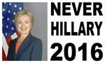 Never Hillary 2016