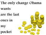 Obama Change From My Pocket