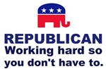 Republican Working Hard