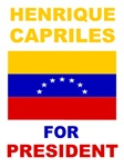 Henrique Capriles for president