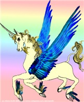 Winged Unicorn Filly