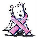 Pink Ribbon Westie