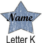 Blue Star names - Letter K
