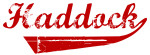 Haddock (red vintage)