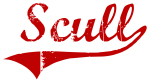 Scull (red vintage)