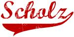 Scholz (red vintage)