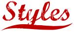 Styles (red vintage)